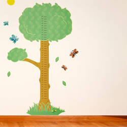 Tree Growth Chart   Wall Decal