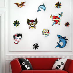 Tattoos - Wall Decal