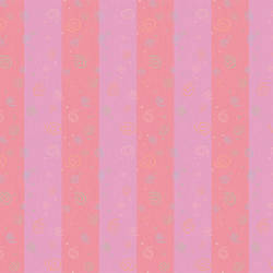 "Pink Stripes With Swirls by Cynthia Charette Featured In The Movie ""Judy Moody and The Not The Bummer Summer"""