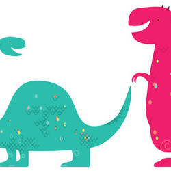 Happysaurus - Wall Decal
