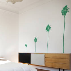 Bon Palm Trees   Wall Decal