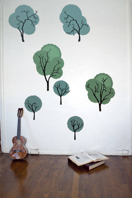 Shaggy Forest - Wall Decal