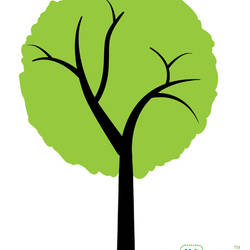 Simple Tree - Wall Decal