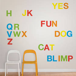 Alphabet - Wall Decal