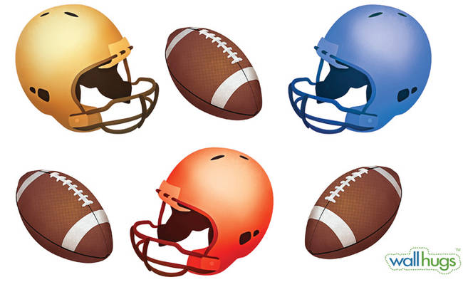 Football - Wall Decal