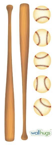 Baseball - Wall Decal