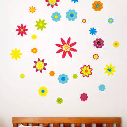 Spring Flowers - Wall Decal