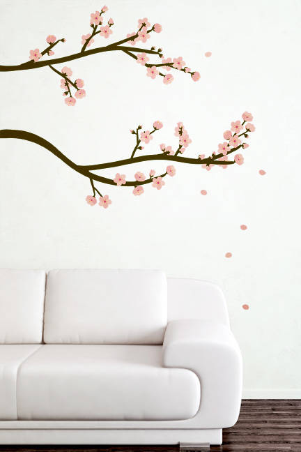Cherry Blossom Branch - Wall Decal