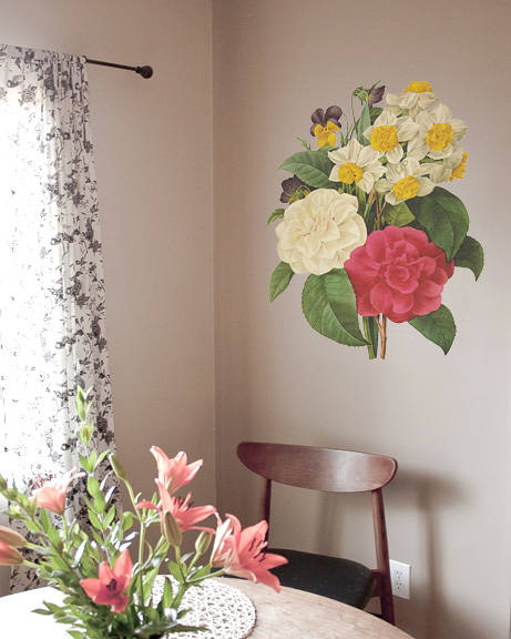 Bouquet - Vintage Wall Decal
