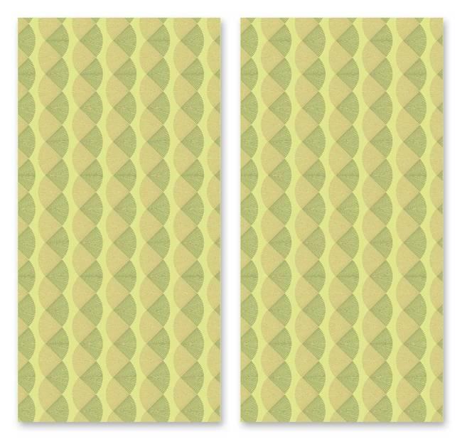 Flipped Fans - Wallpaper Tiles