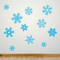 Snowflakes - Christmas Wall Decal