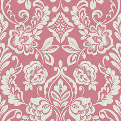 Floral Diamond Damask