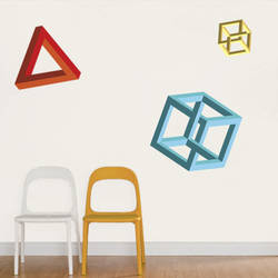 Geometric Shapes - Wall Decal