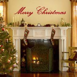 Merry Christmas - Christmas Wall Decal