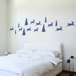 Reindeer - Christmas Wall Decal