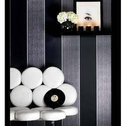 Bold Stripe: Dark / Charcoal Wallpaper