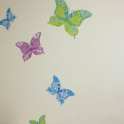 Butterflies, Opal - Wall Decal