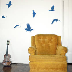 bluebird wall decal - Design Wall Decal