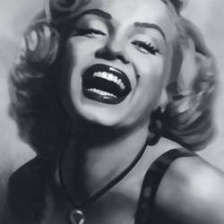 Marlyn Monroe GIant Art Mural Wallpaper: 667