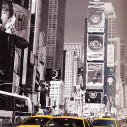 Times Square, Giant Art Mural Wallpaper: 650