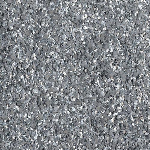 Metallic Textured Silver Flakes