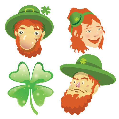 St. Patrick's Day Wall Stickers_Leprechaun: SWC002