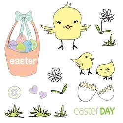 Easter Day CHICKS: SWC:003