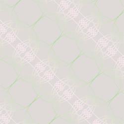 Neural Spirograph, Powder Grey Pink