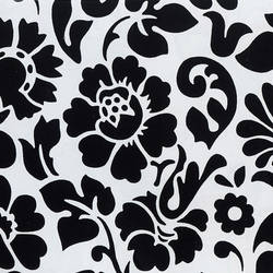 Black and White Floral Contact Paper