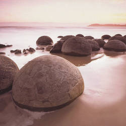 Moeraki Boulders Mural Wallpaper, 8 part: 285