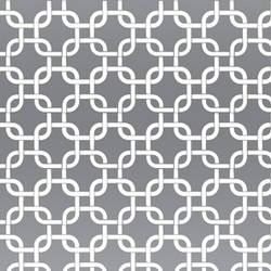 White & Silver Mylar Geometric Squares retro modern wallpaper: VCC0837