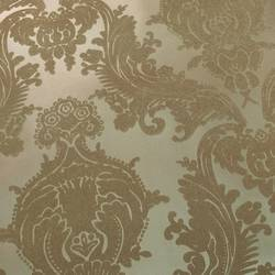 Gold on Matte Gold Damask Heirloom