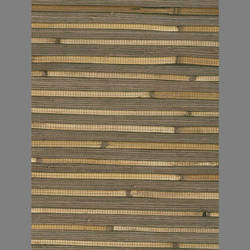 Brown Bamboo Grasscloth handmade natural fiber wallcovering: Be5782g