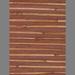 Red Bamboo Grasscloth handmade natural fiber wallcovering: Re5781g