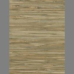 Beige and Dark Brown Grasscloth