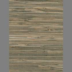 Beige and Black Grasscloth handmade natural fiber wallcovering: Be1537g
