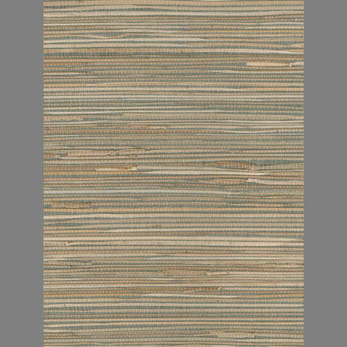 Beige and Green Grasscloth