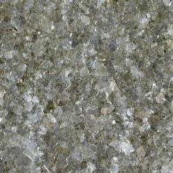 Silver Green Tinted Mica Chips