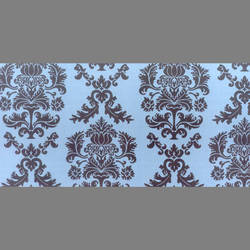 Damask Translucent Static Cling Window Film