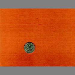 Orange Japanese Silk natural fiber wallcovering: JS39