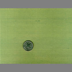 Green Mint Japanese Silk custom-made natural fiber wallcovering: JS36