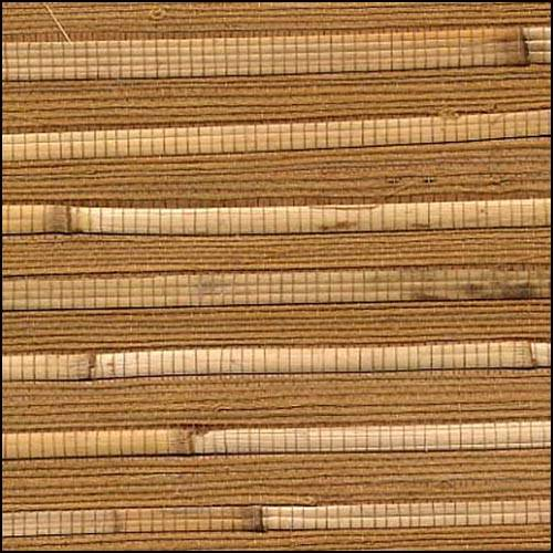 Brown Bamboo Wallcovering. Click To Zoom