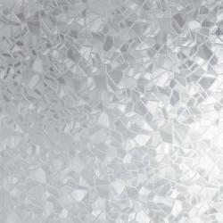 Broken Glass Translucent Static Cling Window Film