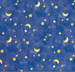 Moon and Stars Contact Paper
