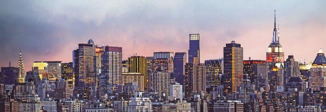 New York Manhattan Skyline - Panoramic