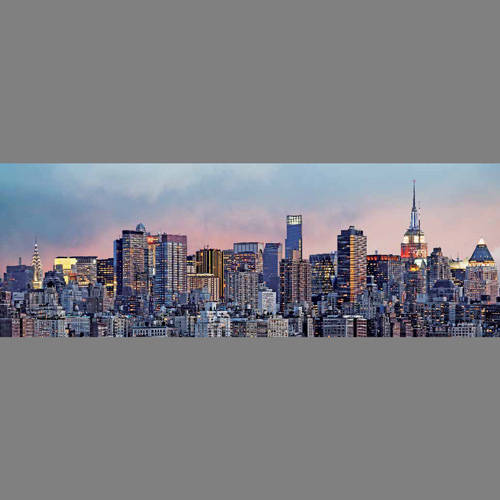 New York Manhattan Skyline - Panoramic