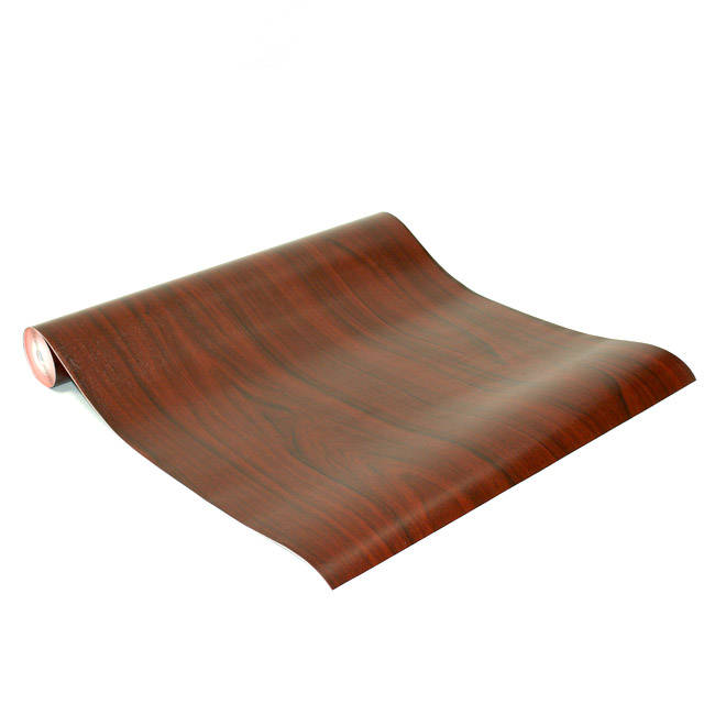 Dark Mahogany Wood Grain Contact Paper