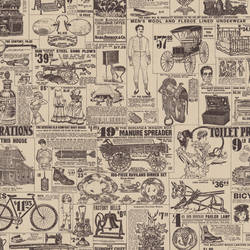 Retro Vintage Wallpaper And Wallcovering