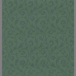 Green leaf vines traditional wallpaper: 201986