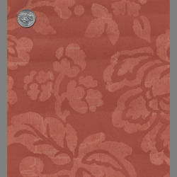 Red Floral traditional wallpaper: 527513